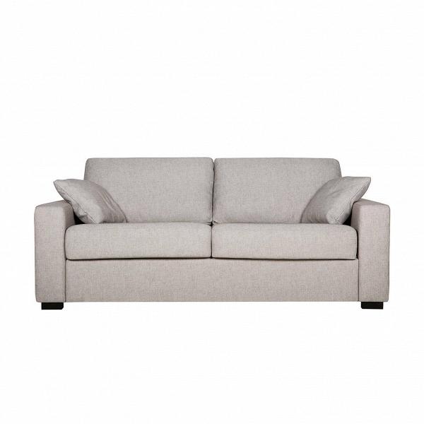 Диван Lukas раскладной трехместныйРаскладные<br>Дизайнерский удобный раскладной диван Lukas (Лукас) с тканевой обивкой на черных ножках от Sits (Ситс).<br> Необычайно удобный диван Lukas раскладной трехместный является ярким представителем строгой, но элегантной классики. Дизайнеры известнейшей компания мягкой мебели Sits не только создали диван приятных простых форм, но и придали ему легкий изысканный шарм, который способен преобразить все помещение. Lukas также снабжен маленькими декоративными подушками, что делает его внешний вид особенн...<br><br>stock: 0<br>Высота: 88<br>Высота сиденья: 48<br>Глубина: 100<br>Длина: 196<br>Цвет ножек: Черный<br>Механизмы: Раскладной<br>Материал обивки: Полиэстер, Хлопок, Акрил<br>Степень комфортности: Стандарт комфорт<br>Форма подлокотников: Armrest II<br>Коллекция ткани: Категория ткани II<br>Тип материала обивки: Ткань<br>Тип материала ножек: Дерево<br>Цвет обивки: Серо-бежевый