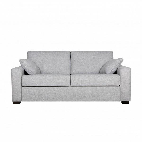 Диван Lukas раскладной трехместныйРаскладные<br>Дизайнерский удобный раскладной диван Lukas (Лукас) с тканевой обивкой на черных ножках от Sits (Ситс).<br> Необычайно удобный диван Lukas раскладной трехместный является ярким представителем строгой, но элегантной классики. Дизайнеры известнейшей компания мягкой мебели Sits не только создали диван приятных простых форм, но и придали ему легкий изысканный шарм, который способен преобразить все помещение. Lukas также снабжен маленькими декоративными подушками, что делает его внешний вид особенн...<br><br>stock: 0<br>Высота: 88<br>Высота сиденья: 48<br>Глубина: 100<br>Длина: 196<br>Цвет ножек: Черный<br>Механизмы: Раскладной<br>Степень комфортности: Стандарт комфорт<br>Форма подлокотников: Armrest II<br>Тип материала обивки: Ткань<br>Тип материала ножек: Дерево<br>Цвет обивки: Светло-серый