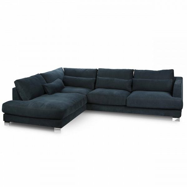 Угловой диван Brandon левосторонний длина 295Угловые<br>Дизайнерский темно-синий диван Brandon (Брэндон) с обивкой из хлопка, льна и со стандартными подлокотниками от Sits (Ситс).<br><br><br> Великолепный, элегантный и изготовленный согласно всем требованиям к современной качественной мебели, угловой диван Brandon левосторонний длина 295 способен украсить собой обстановку любой домашней комнаты и не только. Лучшие дизайнеры мебельной компании Sits постарались сделать диван относительно простых форм, но в то же время украсили его различными деталями:...<br><br>stock: 0<br>Высота: 83<br>Высота сиденья: 46<br>Глубина: 108<br>Длина: 295<br>Цвет ножек: Хром<br>Материал обивки: Хлопок, Лен<br>Степень комфортности: Люкс<br>Форма подлокотников: Стандарт<br>Коллекция ткани: Категория ткани II<br>Тип материала обивки: Ткань<br>Тип материала ножек: Сталь нержавеющая<br>Цвет обивки: Тёмно-синий