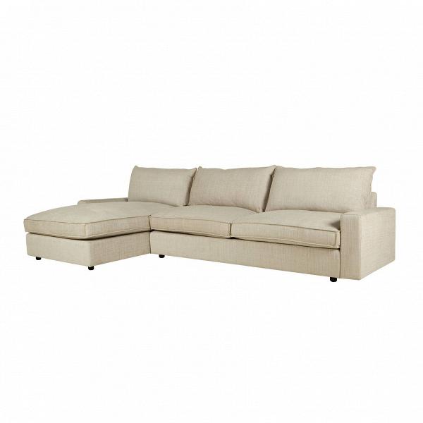 Угловой диван Oscar левосторонний трехместныйУгловые<br>Дизайнерский бежевый угловой тканевый диван Oscar (Оскар) на черных ножках от Sits (Ситс). <br><br> Дизайн углового диванаВOsсarВпривлекает своей продуманностью, в которой учитывается каждая деталь, чтобы сделать ваш отдых наиболее комфортным. Модель дивана выполнена в элегантном классическом стиле, объединяющем в себе гармоничные формы всех элементов и необычайное удобство. В качестве спинки дивана служат удобные подушки одинакового размера. Диван выполнен в теплом светло-бежевом цвет...<br><br>stock: 0<br>Высота: 88<br>Высота сиденья: 48<br>Глубина: 96<br>Длина: 322<br>Цвет ножек: Черный<br>Материал обивки: Полиэстер, Вискоза, Хлопок, Лен<br>Степень комфортности: Люкс<br>Форма подлокотников: Стандарт<br>Коллекция ткани: Категория ткани IV<br>Тип материала обивки: Ткань<br>Тип материала ножек: Пластик<br>Цвет обивки: Бежевый