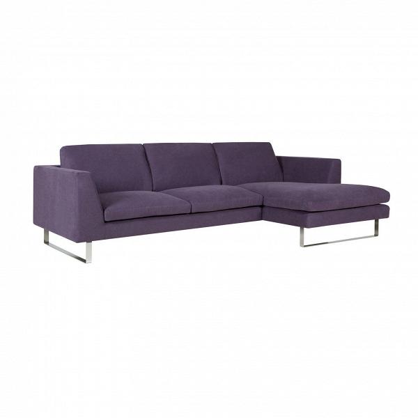 Угловой диван Tokyo правостороннийУгловые<br>Дизайнерский сливовый тканевый диван Tokyo (Токио) с люксовой комфортностью от Sits (Ситс).<br> Угловой диван Tokyo правосторонний выполнен в простом классическом стиле, который слегка разбавляют стальные хромированные ножки, благодаря чему диван получается более стильным и современным. Диван имеет много места для сидения и лежания, что способствует прекрасному отдыху после тяжелого трудового дня. <br><br><br> Практичная, цвета темной сливы, обивка порадует вас своей необычайно приятной на ощупь фак...<br><br>stock: 0<br>Высота: 80<br>Высота сиденья: 43<br>Глубина: 102<br>Длина: 250<br>Цвет ножек: Хром<br>Материал обивки: Хлопок, Лен<br>Степень комфортности: Люкс<br>Форма подлокотников: Стандарт<br>Коллекция ткани: Категория ткани II<br>Тип материала обивки: Ткань<br>Тип материала ножек: Сталь нержавеющая<br>Цвет обивки: Сливовый