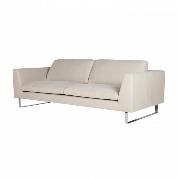 Диван TokyoТрехместные<br>Дизайнерский светло-бежевый диван Tokyo (Токио) с люксовой комфортностью на стальных ножках от Sits (Ситс).<br> Несмотря на свое название, диван Tokyo легко подойдет как для японского стиля, так и для популярного сегодня стиля хай-тек. Диван обладает простыми и легкими формами, приятными глазу и способными легко влиться в окружающую обстановку. Дизайнеры компании Sits выполнили диван в приятном, мягком светло-бежевом цвете.<br><br><br> Оригинальный диван Tokyo имеет тканевый чехол с очень приятной н...<br><br>stock: 0<br>Высота: 80<br>Высота сиденья: 43<br>Глубина: 102<br>Длина: 220<br>Цвет ножек: Хром<br>Материал обивки: Хлопок, Лен<br>Степень комфортности: Люкс<br>Форма подлокотников: Стандарт<br>Коллекция ткани: Категория ткани II<br>Тип материала обивки: Ткань<br>Тип материала ножек: Сталь нержавеющая<br>Цвет обивки: Светло-бежевый