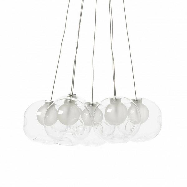 Подвесной светильник Round 7 лампПодвесные<br>Подвесной светильник Round 7 ламп — творение канадского дизайнера израильского происхождения Омера Арбеля. Созданные Омером Арбелем лампы иВлюстры чем-то напоминают настоящие новогодние шары. Творческий директор канадской компании Bocci сумел воплотить вВтаких простых осветительных приборах действительно уникальный дизайн.<br><br><br> Прежде всего важен факт ручного производства этих ламп. Профессиональные мастера-стеклодувы используют вВсвоей работе исключительно переработанное ...<br><br>stock: 0<br>Высота: 150<br>Диаметр: 45<br>Количество ламп: 7<br>Материал абажура: Стекло<br>Мощность лампы: 20<br>Ламп в комплекте: Нет<br>Напряжение: 220<br>Тип лампы/цоколь: G4<br>Цвет абажура: Прозрачный<br>Дизайнер: Omer Arbel