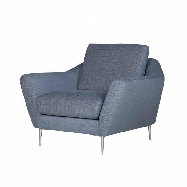 Кресло AgdaИнтерьерные<br>Дизайнерское комфортное классическое кресло Agda (Эгда) от Sits (Ситс).<br><br>Оригинальное креслоВAgdaВимеет невероятно удобную, анатомическую форму подлокотников и подушек, что позволит вам прекрасно отдохнуть в нем даже в рабочее время. Благодаря своим размерам кресло отлично подойдет не только для просторных комнат, но и для небольших помещений, где создаст комфортную и теплую атмосферу.<br> <br> Дизайн кресла разработан для брендаВSay Who двумя талантливыми дизайнерами Каспером ...<br><br>stock: 0<br>Высота: 84<br>Высота сиденья: 48<br>Ширина: 104<br>Глубина: 94<br>Цвет ножек: Хром<br>Материал обивки: Полиэстер, Вискоза, Хлопок, Лен<br>Степень комфортности: Стандарт комфорт<br>Форма подлокотников: Стандарт<br>Коллекция ткани: Категория ткани IV<br>Тип материала обивки: Ткань<br>Тип материала ножек: Металл<br>Цвет обивки: Голубой