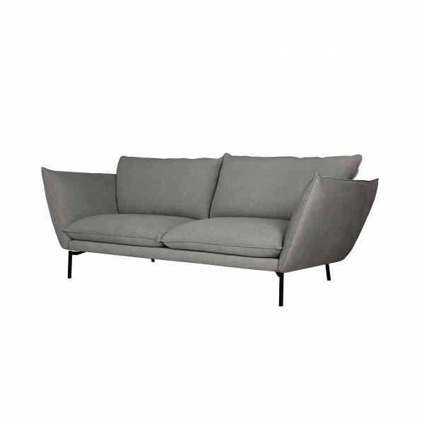 Диван HugoТрехместные<br>Простота конструкции дивана Hugo делает его удобным. Очень мягкие подлокотники и спинкаВ— это крупные и очень мягкие подушки, которые, как и сиденье, обиты войлоком. Этот материал набирает все большую популярность в области дизайна. Им обивают как мебель, так и, к примеру, стены. Износостойкий текстурный материал придает интерьеру аутентичность. В<br><br><br> Диван Hugo — воплощение современного дизайна, подаренное английским дизайнером Иэном Арчером. Он начал свой творческий путь со ...<br><br>stock: 0<br>Высота: 84<br>Высота сиденья: 46<br>Глубина: 101<br>Длина: 214<br>Цвет ножек: Черный<br>Материал обивки: Вискоза, Полиэстер, Акрил<br>Степень комфортности: Люкс<br>Форма подлокотников: Стандарт<br>Коллекция ткани: Exclusive<br>Тип материала обивки: Ткань<br>Тип материала ножек: Металл<br>Цвет обивки: Серый
