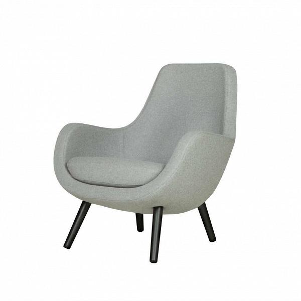 Кресло StefaniИнтерьерные<br>Дизайнерское яркое небольшое кресло Stefani (Стефани) на деревянных ножках от Sits (Ситс).<br><br>Нильс Гаммельгард — выдающийся датский дизайнер, сумевший найти свою нишу. Образованный и талантливый дизайнер вот уже 45 радует взыскательных любителей красивого интерьера. Как художнику ему удается создавать настоящие произведения искусства. Каждая его работа, предмет мебели, — это красивый и лаконичный дизайн,Видеально подходящий для интерьера в скандинавском стиле.<br> <br> Один из его соверше...<br><br>stock: 0<br>Высота: 84<br>Высота сиденья: 44<br>Ширина: 73<br>Глубина: 78<br>Цвет ножек: Черный<br>Материал обивки: Шерсть, Полиамид<br>Степень комфортности: Стандарт комфорт<br>Форма подлокотников: Стандарт<br>Коллекция ткани: Категория ткани III<br>Тип материала обивки: Ткань<br>Тип материала ножек: Дерево<br>Цвет обивки: Светло-серый