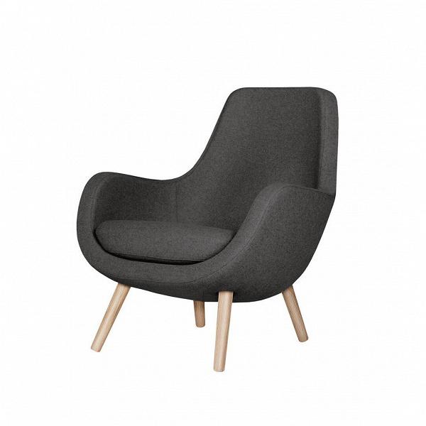 Кресло StefaniИнтерьерные<br>Дизайнерское яркое небольшое кресло Stefani (Стефани) на деревянных ножках от Sits (Ситс).<br><br>Нильс Гаммельгард — выдающийся датский дизайнер, сумевший найти свою нишу. Образованный и талантливый дизайнер вот уже 45 радует взыскательных любителей красивого интерьера. Как художнику ему удается создавать настоящие произведения искусства. Каждая его работа, предмет мебели, — это красивый и лаконичный дизайн,Видеально подходящий для интерьера в скандинавском стиле.<br> <br> Один из его соверше...<br><br>stock: 0<br>Высота: 84<br>Высота сиденья: 44<br>Ширина: 73<br>Глубина: 78<br>Цвет ножек: Беленый дуб<br>Материал обивки: Шерсть, Полиамид<br>Степень комфортности: Стандарт комфорт<br>Форма подлокотников: Стандарт<br>Коллекция ткани: Категория ткани III<br>Тип материала обивки: Ткань<br>Тип материала ножек: Дерево<br>Цвет обивки: Темно-серый