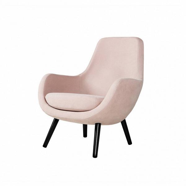Кресло StefaniИнтерьерные<br>Дизайнерское яркое небольшое кресло Stefani (Стефани) на деревянных ножках от Sits (Ситс).<br><br>Нильс Гаммельгард — выдающийся датский дизайнер, сумевший найти свою нишу. Образованный и талантливый дизайнер вот уже 45 радует взыскательных любителей красивого интерьера. Как художнику ему удается создавать настоящие произведения искусства. Каждая его работа, предмет мебели, — это красивый и лаконичный дизайн,Видеально подходящий для интерьера в скандинавском стиле.<br> <br> Один из его соверше...<br><br>stock: 0<br>Высота: 84<br>Высота сиденья: 44<br>Ширина: 73<br>Глубина: 78<br>Цвет ножек: Черный<br>Материал обивки: Хлопок, Лен<br>Степень комфортности: Стандарт комфорт<br>Форма подлокотников: Стандарт<br>Тип материала обивки: Ткань<br>Тип материала ножек: Дерево<br>Цвет обивки: Пудровый розовый