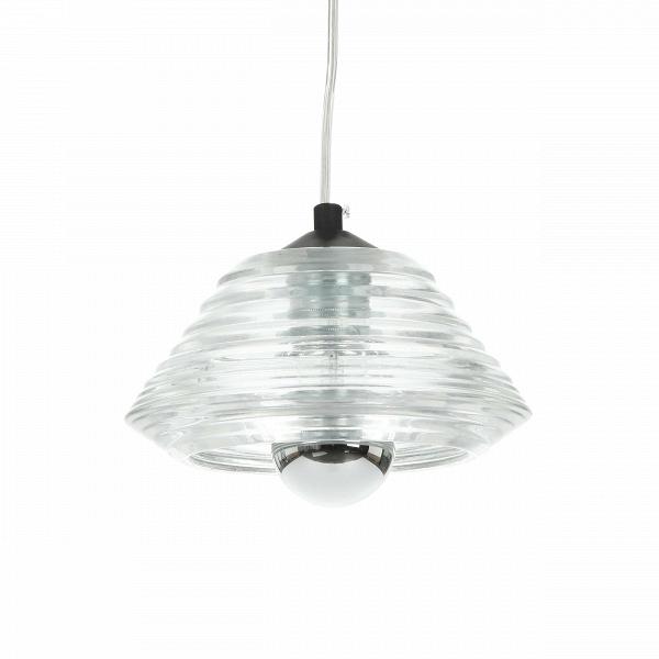 Подвесной светильник Pressed Glass BowlПодвесные<br>Современные дизайнеры все чаще и чаще обращаются к минимализму - в дизайне их продуктовВстановится все меньше и меньше цветов и деталей. Оно и к лучшему! Любой минималистичный предмет интерьера - универсальный и неустаревающий инструмент в создании дизайна помещения.<br> <br> Подвесной светильникВPresses Glass BowlВ- как раз относится к числу новыхВминималистичных инструментов. Благодаря прозрачному стеклу, свет от лампы рассеивается мягко и без потерь.В<br> Светильник мо...<br><br>stock: 58<br>Высота: 10<br>Ширина: 20<br>Длина: 20<br>Количество ламп: 1<br>Материал абажура: Стекло<br>Ламп в комплекте: Нет<br>Напряжение: 220<br>Тип лампы/цоколь: E27<br>Цвет абажура: Прозрачный