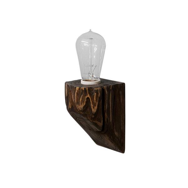 Настенный светильник QuerkНастенные<br><br><br>stock: 0<br>Высота: 10<br>Ширина: 10<br>Длина: 10<br>Количество ламп: 1<br>Материал абажура: Сосна<br>Мощность лампы: 40<br>Ламп в комплекте: Нет<br>Напряжение: 220<br>Тип лампы/цоколь: E27<br>Тип производства: Ручное производство<br>Цвет абажура: Палисандр