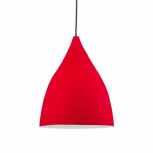 Подвесной светильник Dome Modern диаметр 30Подвесные<br>Стильный подвесной светильник Dome Modern диаметр 30, выполненный из высококачественных материалов, придаст любому интерьеру и помещению оригинальность. Его особенность заключается в нетипичном для светильников покрытии: его внешняя сторона покрыта войлоком, но при этом он абсолютно безопасен. <br><br><br> Купить подвесной светильник Dome Modern диаметр 30 — значит приобрести функциональный и по-настоящему уникальный аксессуар для любой вашей задумки.<br><br>stock: 9<br>Высота: 150<br>Диаметр: 30<br>Количество ламп: 1<br>Материал абажура: Войлок<br>Мощность лампы: 13<br>Ламп в комплекте: Нет<br>Напряжение: 220<br>Тип лампы/цоколь: E27<br>Цвет абажура: Красный