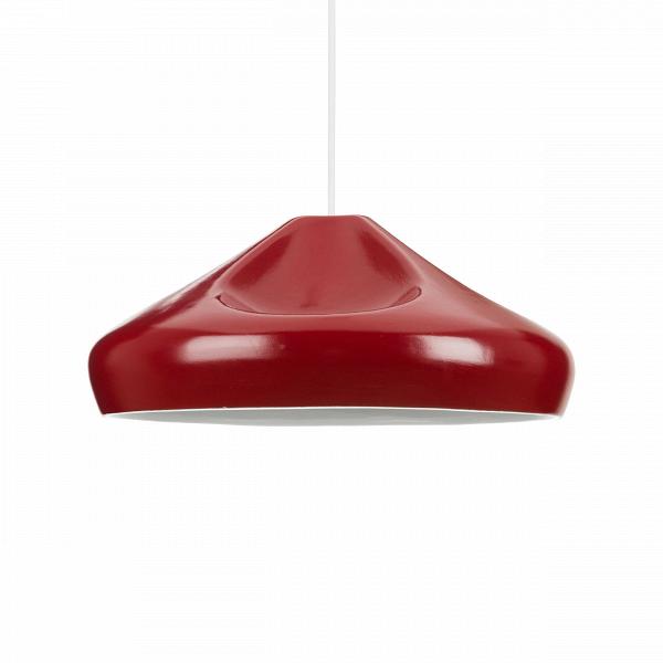 Подвесной светильник Miranda диаметр 36Подвесные<br>Коллекция ламп Miranda — результат творческой дизайнерской мысли. Абажуры сделаны в виде морщинистой ткани. Лампы доступны в различных цветах (золото, серебро, черный, красный и серый). <br> <br> ЗадумываясьВоб оформлении интерьера в современном стиле, не нужно изобретать колесо — существуют стили, которые одинаково уютны и современны, а также обязательно удовлетворят и искушенных, и неопытных в дизайне людей. Скандинавский стиль как раз столь лаконичен, сколь современен. Он пользуется попул...<br><br>stock: 17<br>Высота: 150<br>Диаметр: 36<br>Количество ламп: 1<br>Материал абажура: Керамика<br>Мощность лампы: 40<br>Ламп в комплекте: Нет<br>Напряжение: 220<br>Тип лампы/цоколь: E27<br>Цвет абажура: Красный<br>Дизайнер: Xavier MaГ±osa