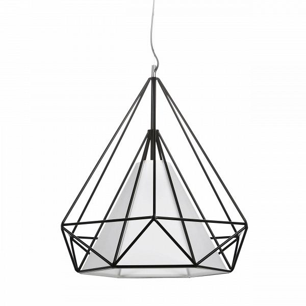 Подвесной светильник HimmeliПодвесные<br>Подвесной светильник Himmeli<br> являет собой пример искусства создания геометрических форм. Название Himmeli происходит отВшведского слова himmel, что означает «небо».<br><br><br><br>Подвесной светильник HimmeliВ— это современный свет вВалмазной форме, созданной тонкими металлическими трубками, легко вписывающийся вВинтерьер любого дома.<br><br>stock: 0<br>Высота: 180<br>Ширина: 44<br>Длина: 50<br>Количество ламп: 1<br>Материал абажура: Пергамент<br>Материал арматуры: Сталь<br>Мощность лампы: 13<br>Ламп в комплекте: Нет<br>Напряжение: 220<br>Тип лампы/цоколь: E27<br>Цвет абажура: Черный матовый<br>Дизайнер: Kevin Reilly