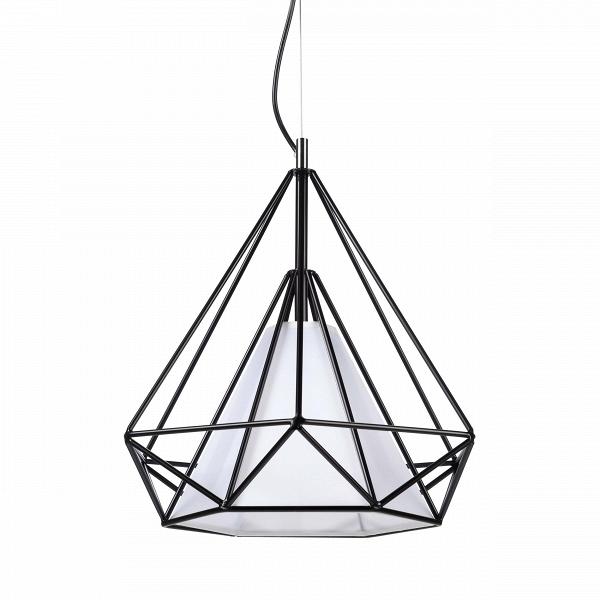 Подвесной светильник HimmeliПодвесные<br>Подвесной светильник Himmeli<br> являет собой пример искусства создания геометрических форм. Название Himmeli происходит отВшведского слова himmel, что означает «небо».<br><br><br><br>Подвесной светильник HimmeliВ— это современный свет вВалмазной форме, созданной тонкими металлическими трубками, легко вписывающийся вВинтерьер любого дома.<br><br>stock: 0<br>Высота: 180<br>Ширина: 33<br>Длина: 38<br>Количество ламп: 1<br>Материал абажура: Пергамент<br>Материал арматуры: Сталь<br>Мощность лампы: 13<br>Ламп в комплекте: Нет<br>Напряжение: 220<br>Тип лампы/цоколь: E27<br>Цвет абажура: Белый<br>Цвет арматуры: Черный<br>Дизайнер: Kevin Reilly