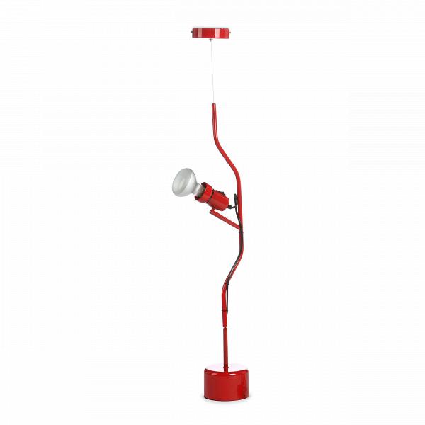 Подвесной светильник ParentesiПодвесные<br>Подвесной светильник Parentesi олицетворяет креативность, движение и свободу в интерьере. Созданный в далеком 1969 году дизайнерами Пио Манзу и Акилле Кастильони, он произвел истинный фурор. Несмотря на то что с момента его создания прошло более полувека, этот светильник и сейчас остается актуальным и очень популярным. Современные известные дизайнеры даже создают свои версии знаменитого Parentesi (впрочем, они не сильно отличаются от того, который был придуман Манзу и Кастильони).<br><br><br> С...<br><br>stock: 8<br>Высота: 200<br>Ширина: 20<br>Диаметр: 12<br>Материал абажура: Сталь<br>Напряжение: 220<br>Цвет абажура: Красный<br>Дизайнер: Achille Castiglioni
