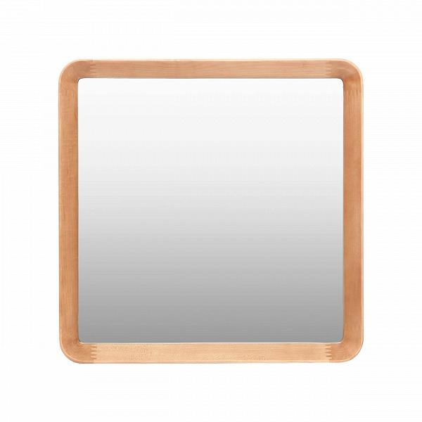Настенное зеркало Velodrome квадратноеНастенные<br>Дизайнер Шон Дикс знает толк в современном минималистичном интерьере. За годы своего становления как дизайнера Дикс разработал свой фирменный стиль, состоящий из мотивов нескольких стилей в интерьере — эко и хай-тек. Если взглянуть хотя бы на несколько его работ, то впредь распознать авторский почерк будет несложно. Экоматериалы, сглаженные линии, натуральная текстура дерева — это постоянные атрибуты мебели и декора от Дикса. Мебель Шона Дикса минималистична иВинтеллектуальна, прекрасно ...<br><br>stock: 4<br>Высота: 60<br>Ширина: 60<br>Материал: Дуб белый<br>Дизайнер: Sean Dix