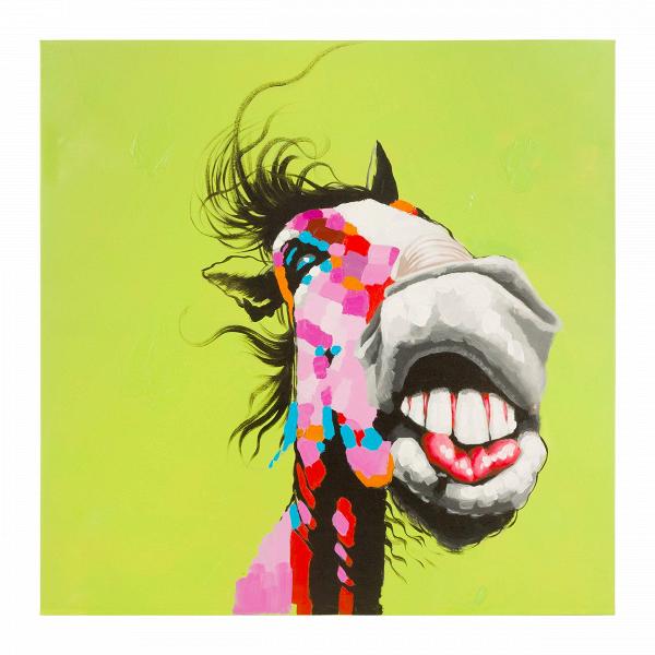 Картина HorseКартины<br>Одна изВпоследних мировых тенденций вВвыборе картин для жилых иВнежилых помещенийВ— руководствоваться только собственными эмоциями. Картина, висящая наВстене, перестает быть элитарным предметом искусства, передающимся изВпоколения вВпоколение.<br><br><br> Сегодня это предмет, глядя наВкоторый выВиспытываете особенные чувства: грусть или радость, прилив энергии, восторг, всплеск воспоминаний или ассоциаций сВлюбимым местом, фильмом, песней, чело...<br><br>stock: 0<br>Высота: 120<br>Ширина: 120<br>Цвет: Разноцветный/Colorful