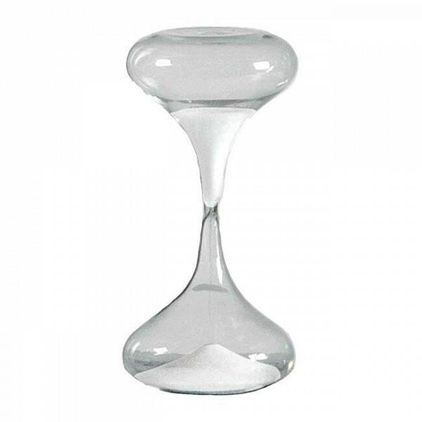 Песочные часы Si-Time на 30 минутЧасы<br>Дизайнерские прозрачные песочные часы Si-Time (Си-Тайм) из стекла на 30 минут от Seletti (Селетти).<br><br><br><br> Итальянские дизайнеры из компании Seletti чтут традиции модернизма, не забывая о старинных канонах красоты, иВскрещивают новые формы и цвета с классическим декором, получая ни на что не похожие предметы.<br><br><br> Компания была создана еще в шестидесятых, один из ее основателей Романо в то время активно путешествовал по востоку Китая и привез в Европу предметы интерьера из бамбука, п...<br><br>stock: 3<br>Высота: 20<br>Материал: Стекло<br>Цвет: Прозрачный/Clear<br>Диаметр: 10