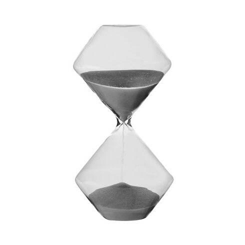 Песочные часы Si-Time Rombus на 30 минутЧасы<br>Дизайнерские стеклянные песочные часы Si-Time Rombus (Си-Тайм Румбус) на 30 минут от Seletti (Селетти).<br><br><br><br> Песочные оригинальные часы Si-Time Rombus на 30 минут — идеальный дизайнерский предмет, который можно использовать вВкачестве настольного аксессуара или подарка для вашего любимого человека. Компания Seletti предлагает современный взгляд наВклассические песочные часы.<br><br><br> Дизайнерские песочные часы Si-Time Rombus неВдадут забыть вам оВбыстротечности времени.<br><br>stock: 0<br>Высота: 19<br>Материал: Стекло<br>Цвет: Прозрачный/Clear<br>Диаметр: 10