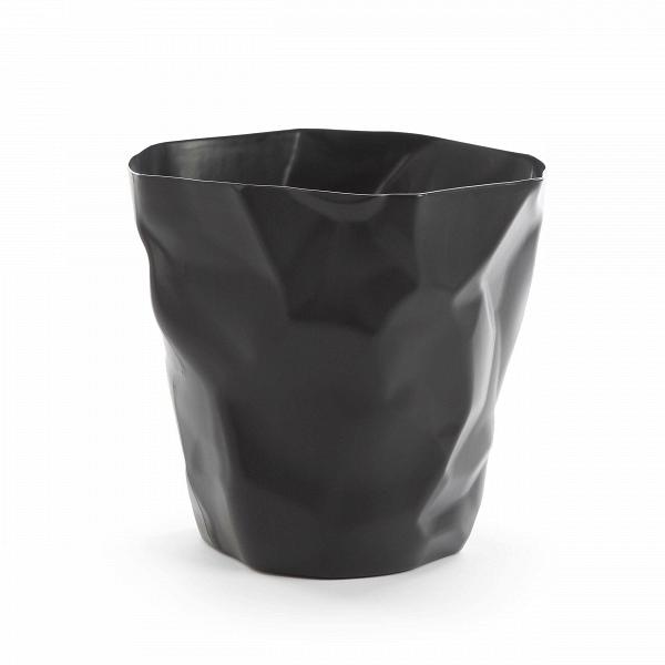 Мусорная корзина CrumpleРазное<br>Дизайнерская мусорная однотонная корзина Crumple (Крампл) из полипропилена от Cosmo (Космо).<br><br>     Видно, дизайнер, разрабатывавший конструкцию этой корзины, долго не мог придумать, какой она будет в конечном итоге. Сделав очередной набросок, он смял его в комок — и получил отличную идею мусорнойВкорзины Crumple!В<br><br><br>     Эта забавная мусорная корзина идеально подойдет для творческих студий иВдизайнерских бюро. Она изготовлена из легкого долговечного материала, полипропилен...<br><br>stock: 14<br>Высота: 30<br>Ширина: 32<br>Диаметр: 20<br>Материал каркаса: Полипропилен<br>Цвет каркаса: Черный