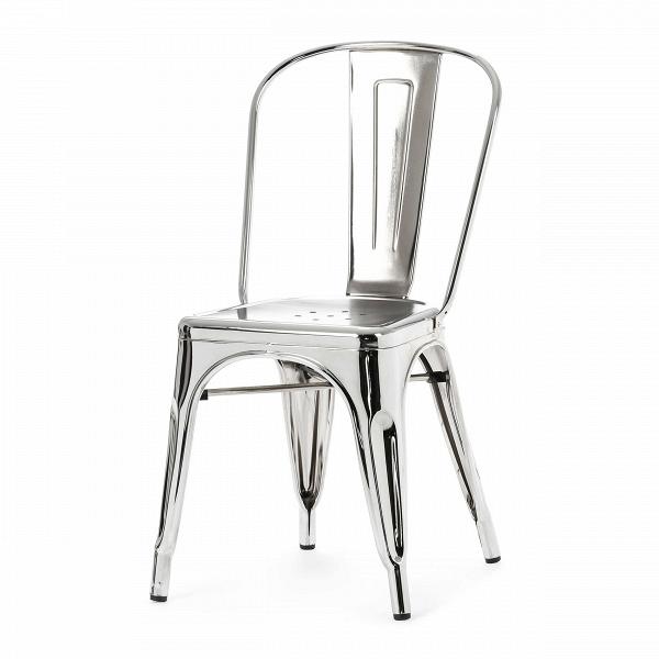 Стул MaraisИнтерьерные<br>Дизайнерский стальной жесткий стул Marais (Мэрейс) необычной формы без подлокотников от Cosmo (Космо).<br><br>     Сталь и больше ничего. Блестящее применение этого простого материала демонстрирует стул Marais. Тонкая стальная трубка с широкой вертикальной панелью образует спинку, сиденье с едва заметным углублением и несколькими декоративными отверстиями аккуратно приварено к цельному каркасу ножек, пространство между которыми оформлено в виде арок, гармонируя со спинкой и придавая предмету легк...<br><br>stock: 1<br>Высота: 85<br>Высота сиденья: 45<br>Ширина: 46<br>Глубина: 51<br>Тип материала каркаса: Сталь<br>Цвет каркаса: Хром<br>Дизайнер: Xavier Pauchard