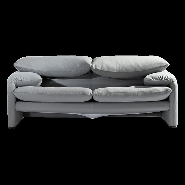 Диван MaralungaДвухместные<br>Дизайнерский диван Maralunga — это необычайно оригинальное изделие, созданное ведущими западными дизайнерами специально для того, чтобы радовать вас как своим очаровательным внешним видом, так и потрясающим комфортом и качеством. Главная особенность этой модели — в его необычных подлокотниках и спинке, которые буквально располагают к прекрасному полноценному отдыху и легко могут подарить вам отличное настроение на весь день.<br><br><br> Обивка дивана изготовлена из качественной прочной ткани с...<br><br>stock: 0<br>Высота: 77,5-96,5<br>Высота сиденья: 44<br>Глубина: 85<br>Длина: 185<br>Цвет ножек: Хром<br>Материал обивки: Шерсть, Нейлон<br>Коллекция ткани: T Fabric<br>Тип материала обивки: Ткань<br>Тип материала ножек: Сталь нержавеющая<br>Цвет обивки: Серо-коричневый