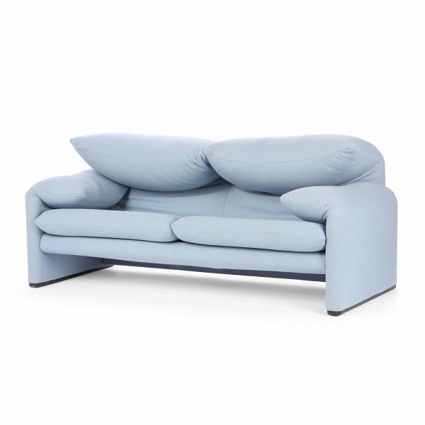 Диван MaralungaДвухместные<br>Дизайнерский диван Maralunga — это необычайно оригинальное изделие, созданное ведущими западными дизайнерами специально для того, чтобы радовать вас как своим очаровательным внешним видом, так и потрясающим комфортом и качеством. Главная особенность этой модели — в его необычных подлокотниках и спинке, которые буквально располагают к прекрасному полноценному отдыху и легко могут подарить вам отличное настроение на весь день.<br><br><br> Обивка дивана изготовлена из качественной прочной ткани с...<br><br>stock: 0<br>Высота: 77,5-96,5<br>Высота сиденья: 44<br>Глубина: 85<br>Длина: 185<br>Цвет ножек: Хром<br>Материал обивки: Шерсть, Нейлон<br>Коллекция ткани: T Fabric<br>Тип материала обивки: Ткань<br>Тип материала ножек: Сталь нержавеющая<br>Цвет обивки: Светло-голубой