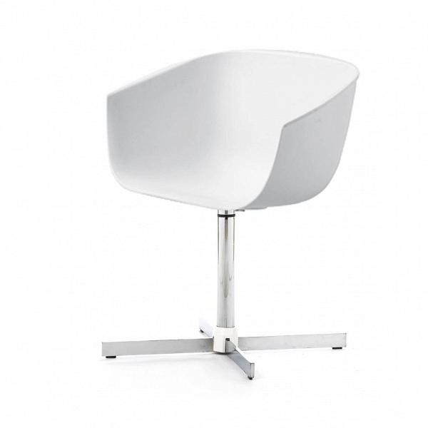 Стул VisitorИнтерьерные<br>Дизайнерский черный стул Visitor (Визитор) в форме чаши на стальной хромированной ножке от Cosmo (Космо).<br><br>     Необычный иВвВтоВже время строгий иВсдержанный — отличный кандидат на роль мебели в офисе креативного и целеустремленного коллектива. Стул Visitor — классическая модель офисной мебели, которая так часто встречается наВработе, воВвремя обеденного перерыва, заВдомашним компьютером иВдаже воВвремя отдыха.<br><br>Удобный, оригинальный, простой ...<br><br>stock: 0<br>Высота: 72,5<br>Высота сиденья: 44,5<br>Ширина: 59<br>Глубина: 53<br>Цвет ножек: Хром<br>Цвет сидения: Белый<br>Тип материала сидения: Полипропилен<br>Тип материала ножек: Сталь