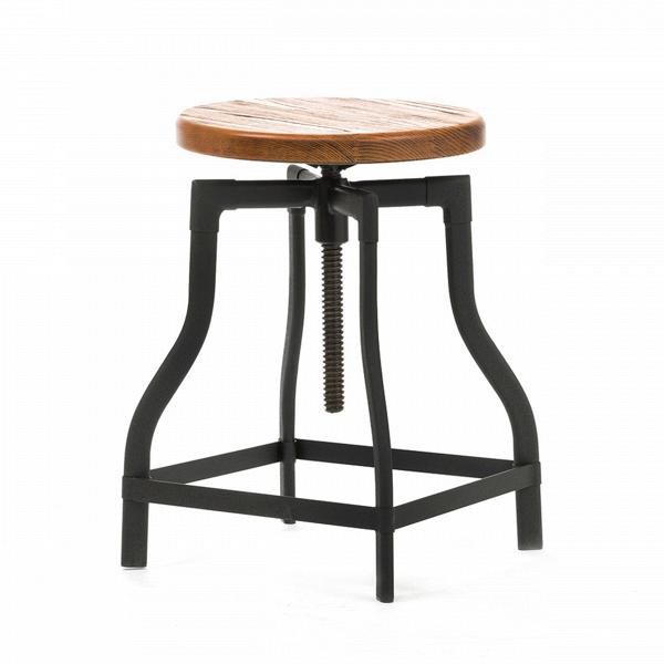 Табурет MachinistТабуреты<br>Особую атмосферу и уют в помещении легко создать, используя уникальную и экстравагантную мебель. Лучшие представители таковой — это авторские дизайнерские проекты, такие как модели великолепного табурета Machinist, классики 30-х годов.<br><br><br> Сиденье из натуральной ивы патинировано, что придает предмету положенный винтажной мебели оттенок старины. Ножки табурета представляют собой цельную конструкцию в форме колокола; подножки и винтовой механизм, регулирующий высоту сиденья, делают табур...<br><br>stock: 0<br>Высота: 45-65<br>Диаметр: 37<br>Тип материала каркаса: Сталь<br>Материал сидения: Массив ивы<br>Цвет сидения: Коричневый<br>Тип материала сидения: Дерево<br>Цвет каркаса: Черный