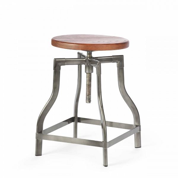 Табурет MachinistТабуреты<br>Особую атмосферу и уют в помещении легко создать, используя уникальную и экстравагантную мебель. Лучшие представители таковой — это авторские дизайнерские проекты, такие как модели великолепного табурета Machinist, классики 30-х годов.<br><br><br> Сиденье из натуральной ивы патинировано, что придает предмету положенный винтажной мебели оттенок старины. Ножки табурета представляют собой цельную конструкцию в форме колокола; подножки и винтовой механизм, регулирующий высоту сиденья, делают табур...<br><br>stock: 0<br>Высота: 45-65<br>Диаметр: 37<br>Тип материала каркаса: Сталь<br>Материал сидения: Массив ивы<br>Цвет сидения: Темно-коричневый<br>Тип материала сидения: Дерево<br>Цвет каркаса: Бронза пушечная
