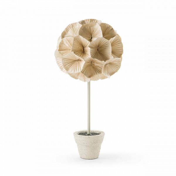 Настольный светильник PoppyНастольные<br>Настольный светильник Poppy всем своим видом излучает скромное очарование, сдержанную красоту, элегантную женственность иВнежность теплых оттенков. Все этоВ— отличительные черты светильников из коллекции Poppy. Цветы, создающие настольный светильник Poppy, сделаны вручную изВгофрированного картона, плотно приклеиваются друг кВдругу иВзакрепляются наВметаллическом каркасе, чтобы создать настоящую цветущую клумбу. В итоге получается волшебный неувядающий букет...<br><br>stock: 0<br>Диаметр: 60<br>Материал абажура: Бумага<br>Материал арматуры: Металл<br>Цвет абажура: Кремовый<br>Дизайнер: Christy Manguerra