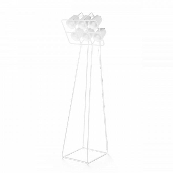 Напольный светильник Multilamp белыйНапольные<br>Напольный светильник Multilamp белый от дизайнера Эмануэле Маджини — это ультрамодный софит, соединяющий в себе свет шести ярких LED-ламп. Строгий дизайн светильника определенно придется по вкусу всем любителям грубоватых форм. Четкие грани и правильные геометрические формы изделия говорят о превосходном вкусе создателей этого софита.<br> <br> Порой компания Seletti, для которой напольный светильник Multilamp белый и<br> был разработан, демонстрирует совершенно необычные для себя линейки. Но<br> тут ...<br><br>stock: 0<br>Высота: 180<br>Ширина: 51<br>Длина: 53<br>Материал арматуры: Металл<br>Цвет арматуры: Белый