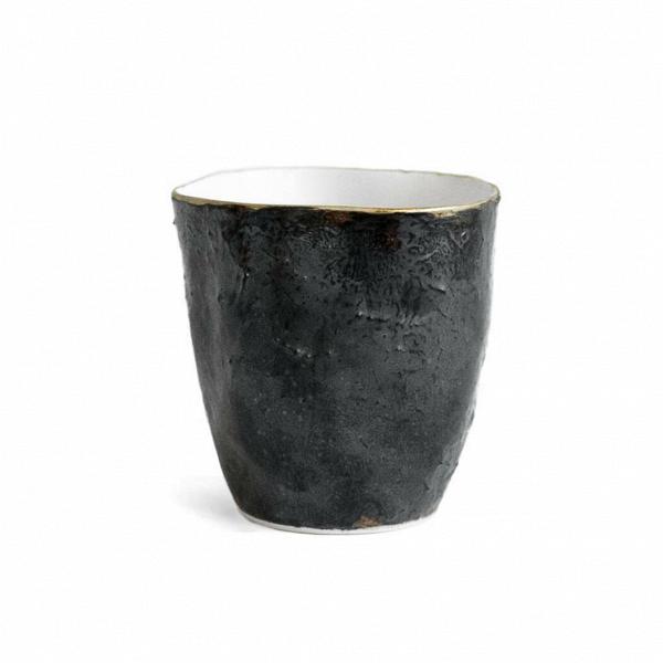 Чаша Небо большая чернаяПосуда<br><br><br>stock: 1<br>Высота: 10<br>Материал: Фарфор<br>Цвет: Черный<br>Диаметр: 9,8