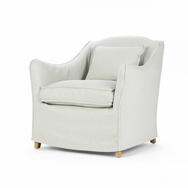 Кресло KeithИнтерьерные<br>Дизайнерское глубокое удобное кресло Keith (Кит) классической формы от Cosmo (Космо).<br><br><br><br> Кресло Keith имеет спокойные, нейтральные черты и форму, благодаря чему оно довольно универсально для любой комнаты. Ножки кресла скрыты тканевой обивкой, за счет чего кресло выглядит цельно и лаконично. Приятная тканевая обивка замечательно подойдет для уютных небольших комнат, где преобладают мягкие и плавные линии. Дизайнеры компании Cosmo создали два варианта данного кресла: темно-синего и голу...<br><br>stock: 9<br>Высота: 84<br>Высота сиденья: 50<br>Ширина: 81<br>Глубина: 83<br>Цвет ножек: Дуб<br>Материал ножек: Массив дуба<br>Материал обивки: Полиэстер<br>Тип материала обивки: Ткань<br>Тип материала ножек: Дерево<br>Цвет обивки: Голубой