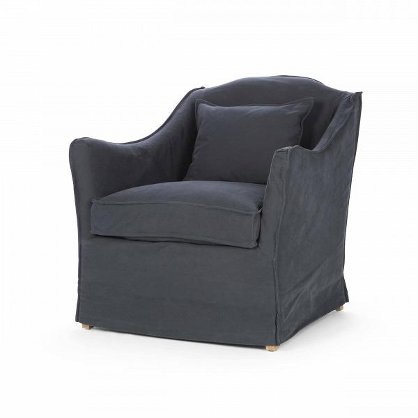 Кресло KeithИнтерьерные<br>Дизайнерское глубокое удобное кресло Keith (Кит) классической формы от Cosmo (Космо).<br><br><br><br> Кресло Keith имеет спокойные, нейтральные черты и форму, благодаря чему оно довольно универсально для любой комнаты. Ножки кресла скрыты тканевой обивкой, за счет чего кресло выглядит цельно и лаконично. Приятная тканевая обивка замечательно подойдет для уютных небольших комнат, где преобладают мягкие и плавные линии. Дизайнеры компании Cosmo создали два варианта данного кресла: темно-синего и голу...<br><br>stock: 0<br>Высота: 84<br>Высота сиденья: 50<br>Ширина: 81<br>Глубина: 83<br>Цвет ножек: Дуб<br>Материал ножек: Массив дуба<br>Материал обивки: Хлопок<br>Тип материала обивки: Ткань<br>Тип материала ножек: Дерево<br>Цвет обивки: Тёмно-синий