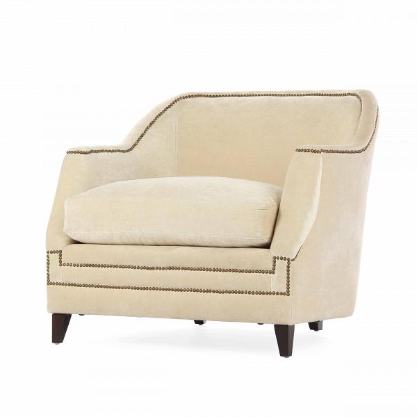 Кресло AspenИнтерьерные<br>Дизайнерское Светлое мягкое удобное кресло Aspen (Аспен) от Cosmo (Космо).<br><br><br> Кресло Aspen сочетает в себе классическую форму с яркими современными чертами. Кресло отличается привлекательным контрастом темного и светлого цветов. По всему периметру кресла проходит красивая строчка, которая служит ему ненавязчивым и оригинальным украшением. На выбор имеются два варианта кресла — голубого и светло-бежевого цвета. Оба оттенка очень легкие и приятные. Необычные подлокотники кресла Aspen также...<br><br>stock: 5<br>Высота: 89<br>Высота сиденья: 56<br>Ширина: 99<br>Глубина: 96.5<br>Цвет ножек: Темно-коричневый<br>Материал ножек: Массив березы<br>Материал обивки: Вискоза, Полиэстер<br>Тип материала обивки: Ткань<br>Тип материала ножек: Дерево<br>Цвет обивки: Светло-бежевый