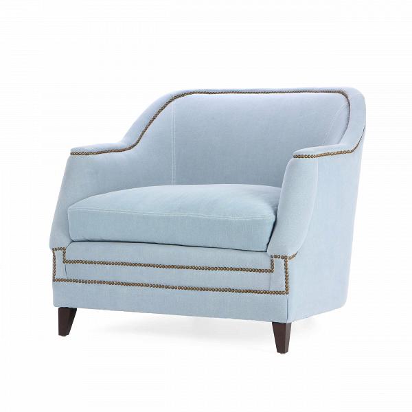 Кресло AspenИнтерьерные<br>Дизайнерское Светлое мягкое удобное кресло Aspen (Аспен) от Cosmo (Космо).<br><br><br> Кресло Aspen сочетает в себе классическую форму с яркими современными чертами. Кресло отличается привлекательным контрастом темного и светлого цветов. По всему периметру кресла проходит красивая строчка, которая служит ему ненавязчивым и оригинальным украшением. На выбор имеются два варианта кресла — голубого и светло-бежевого цвета. Оба оттенка очень легкие и приятные. Необычные подлокотники кресла Aspen также...<br><br>stock: 8<br>Высота: 89<br>Высота сиденья: 56<br>Ширина: 99<br>Глубина: 96.5<br>Цвет ножек: Темно-коричневый<br>Материал ножек: Массив березы<br>Материал обивки: Хлопок, Лен<br>Тип материала обивки: Ткань<br>Тип материала ножек: Дерево<br>Цвет обивки: Голубой