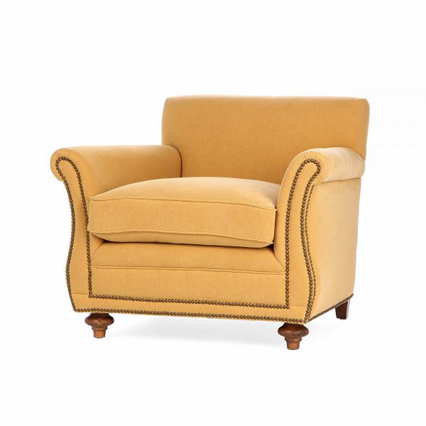 Кресло BrayИнтерьерные<br>Дизайнерское Мягкое удобно светлое кресло Bray (Брей) классической формы от Cosmo (Космо).<br><br><br> Классический стиль и приятное легкое цветовое исполнение — кресло Bray цепляет своим очевидным комфортом и ненавязчивой красотой. Удобные подлокотники дополняют необычайно комфортное сиденье и спинку, что в результате дает замечательную конструкцию, которая позволит вам с удобством устроиться как в рабочем офисе, так и в любимой гостиной комнате. Кресло выполнено в однотонном формате, с тонкой ...<br><br>stock: 5<br>Высота: 88<br>Высота сиденья: 55<br>Ширина: 94<br>Глубина: 100<br>Цвет ножек: Темно-коричневый<br>Материал ножек: Массив дуба<br>Материал обивки: Хлопок, Лен<br>Тип материала обивки: Ткань<br>Тип материала ножек: Дерево<br>Цвет обивки: Оранжевый