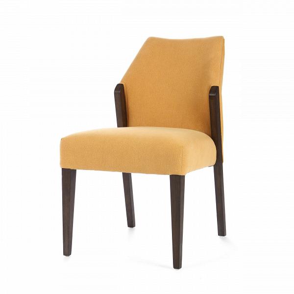 Стул DaltonИнтерьерные<br>Дизайнерский мягкий стул Dalton (Дэлтон) с обивкой из ткани на дубовом каркасе от Cosmo (Космо).<br><br>     Когда хочется неоднозначности в дизайне интерьера или же смешения различных стилей, на помощь дизайнерам приходят предметы мебели, которые легко смогут вписаться как в классический, так и в любой современный интерьер. Стул Dalton универсален по своему дизайну, выполнен в спокойных, гармоничных цветовых оттенках. Форма стула также не вызывает противоречивых чувств — классический дизайн с пр...<br><br>stock: 7<br>Высота: 86<br>Высота сиденья: 51<br>Ширина: 53<br>Глубина: 66<br>Цвет ножек: Темно-коричневый<br>Материал ножек: Массив дуба<br>Материал сидения: Хлопок, Лен<br>Цвет сидения: Песочный<br>Тип материала сидения: Ткань<br>Тип материала ножек: Дерево