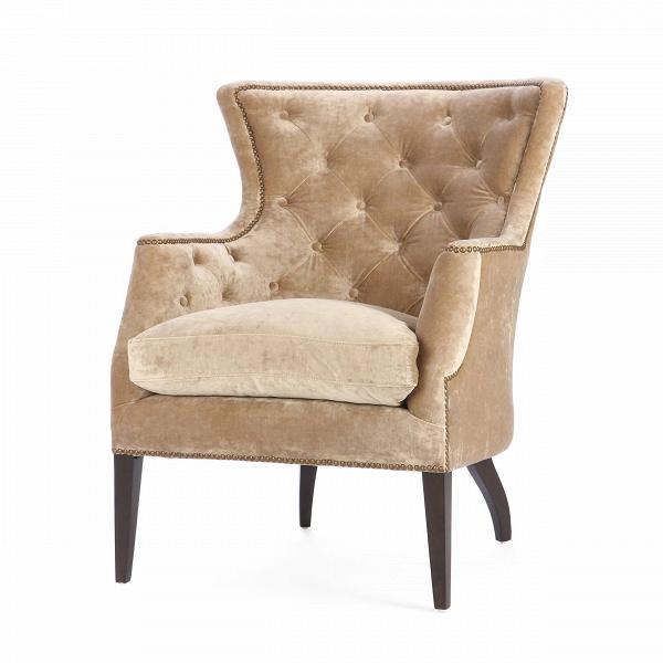 Кресло PierceИнтерьерные<br>Дизайнерское мягкое удобное кресло Pierce с широкой спинкой от Cosmo.<br><br><br> Кресло Pierce отличается спокойным цветовым оформлением, которое, однако, придает ему особенную притягательность и красоту. Каретная стяжка на внутренней стороне спинки также служит прекрасным украшением, благодаря которому кресло приобретает легкий оттенок классики и дизайнерских традиций. Компания Cosmo предлагает на выбор три варианта расцветки: оливковый, голубой и бежевый, поэтому вы легко сможете подобрать име...<br><br>stock: 5<br>Высота: 100<br>Высота сиденья: 56<br>Ширина: 81<br>Глубина: 88<br>Цвет ножек: Махагон<br>Материал ножек: Массив березы<br>Материал обивки: Полиэстер, Вискоза, Хлопок<br>Тип материала обивки: Ткань<br>Тип материала ножек: Дерево<br>Цвет обивки: Бежевый