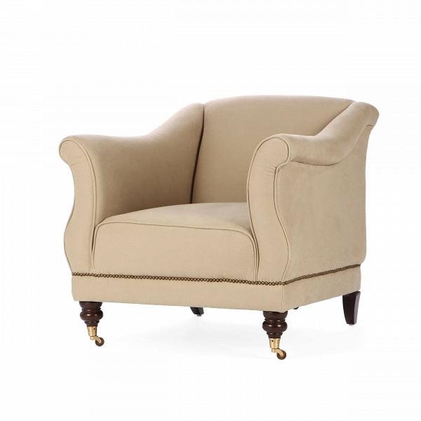 Кресло LucyИнтерьерные<br>Дизайнерское классическое бежевое глубокое удобное кресло Lucy (Люси) от Cosmo (Космо).<br><br><br> Кресло Lucy имеет оригинальный дизайн, на фоне которого особенно выделяются фигурные передние ножки. Кресло же выполнено в лучших классических традициях с легким уклоном в современные тенденции. Дизайнеры компании Cosmo предусмотрели буквально все, удобная форма кресла сочетается с замечательным светло-бежевым цветом, который легко впишется практически в любой интерьер.<br><br><br> Кресло имеет приятную...<br><br>stock: 10<br>Высота: 83<br>Высота сиденья: 48<br>Ширина: 86<br>Глубина: 91<br>Цвет ножек: Коричневый<br>Материал ножек: Состаренный массив дуба<br>Материал обивки: Хлопок, Лен<br>Тип материала обивки: Ткань<br>Тип материала ножек: Дерево<br>Цвет обивки: Тёмно-бежевый