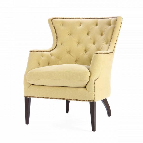 Кресло PierceИнтерьерные<br>Дизайнерское мягкое удобное кресло Pierce с широкой спинкой от Cosmo.<br><br><br> Кресло Pierce отличается спокойным цветовым оформлением, которое, однако, придает ему особенную притягательность и красоту. Каретная стяжка на внутренней стороне спинки также служит прекрасным украшением, благодаря которому кресло приобретает легкий оттенок классики и дизайнерских традиций. Компания Cosmo предлагает на выбор три варианта расцветки: оливковый, голубой и бежевый, поэтому вы легко сможете подобрать име...<br><br>stock: 4<br>Высота: 100<br>Высота сиденья: 56<br>Ширина: 81<br>Глубина: 88<br>Цвет ножек: Махагон<br>Материал ножек: Массив березы<br>Материал обивки: Хлопок, Лен<br>Тип материала обивки: Ткань<br>Тип материала ножек: Дерево<br>Цвет обивки: Оливковый