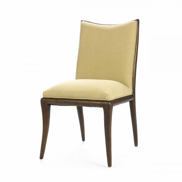 Стул FlorenceИнтерьерные<br>Дизайнерский мягкий классический стул Florence (Флоренс) без подлокотников на деревянном каркасе от Cosmo (Космо).<br><br> Стул Florence — это приятное сочетание современной классики и минималистичного оформления. Ничего лишнего, только комфорт и изящный, «теплый» дизайн. Стул представлен в двух вариантах — с обивкой, выполненной в оливковом или голубом цвете. Стоит обратить внимание и на оформление каркаса стула; отсутствие подлокотников и простые, элегантные ножки делают его весьма универсальны...<br><br>stock: 22<br>Высота: 90<br>Ширина: 46<br>Глубина: 49<br>Цвет ножек: Темно-коричневый<br>Материал ножек: Массив березы<br>Материал сидения: Хлопок<br>Цвет сидения: Оливковый<br>Тип материала сидения: Ткань<br>Тип материала ножек: Дерево