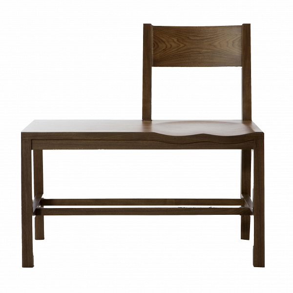 Скамья TomokoСкамьи и лавочки<br>Скамья Tomoko совершенно уникальна по своему дизайну — она представляет собой причудливую комбинацию скамьи и стула. С середины сиденья на скамье имеется спинка, а также легкая вогнутость, благодаря чему на скамье сидеть очень комфортно.ВВДизайн олицетворяет бесподобную и органичную комбинацию сдержанности и в тоже время креативности.В<br> <br> Дизайнер скамьи Шон Дикс, чьи работы известны во всех прогрессивных странах, любит создавать неповторимый дизайн, в котором воплощена не то...<br><br>stock: 0<br>Высота: 80<br>Высота сиденья: 44<br>Ширина: 80<br>Глубина: 47<br>Материал каркаса: Массив ореха<br>Тип материала каркаса: Дерево<br>Цвет каркаса: Орех<br>Дизайнер: Sean Dix