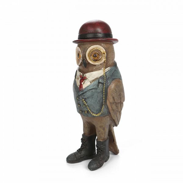 Статуэтка Mr. Owl 2Настольные<br>Дизайнерская маленькая разноцветная статуэтка Mr. Owl (Мр. Оул) из смолы от Cosmo (Космо).<br> Многие предпочитают, чтобы интерьер дома был уютным и теплым, максимально комфортным и навевающим приятные чувства. И не зря, ведь именно дома мы можем расслабиться и насладиться любимой обстановкой. Но не стоит забывать и о веселье и положительных эмоциях — статуэтки или картины, вызывающие улыбку, порадуют как вас, так и всех ваших гостей и создадут замечательное настроение во всем помещении.<br><br><br>...<br><br>stock: 9<br>Высота: 13.5<br>Ширина: 5<br>Материал: Смола<br>Цвет: Разноцветный<br>Длина: 5<br>Цвет дополнительный: Коричневый