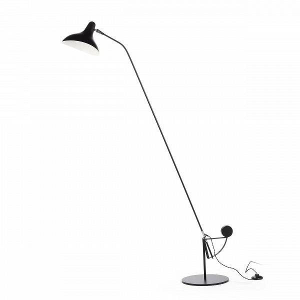Напольный светильник MantisНапольные<br>Напольный светильник Mantis — это работа дизайнера Бернарда Шоттландера, которую он создал в 1951 году. Сам художник считает себя «дизайнером интерьеров и скульптором экстерьеров», поэтому его известный «богомол» (так переводится название светильника), может настраиваться по высоте и сгибу в зависимости от нужд владельца.<br><br><br> Настраиваемый функционал — одно из главных достоинств этого светильника. Очень удобно иметь возможность направить свет так, чтобы он падал под идеальным углом, или...<br><br>stock: 0<br>Высота: 170<br>Диаметр: 29<br>Количество ламп: 1<br>Материал абажура: Алюминий<br>Материал арматуры: Сталь<br>Мощность лампы: 40<br>Ламп в комплекте: Нет<br>Напряжение: 220-240<br>Тип лампы/цоколь: E14<br>Цвет абажура: Черный<br>Цвет арматуры: Черный<br>Цвет провода: Черный