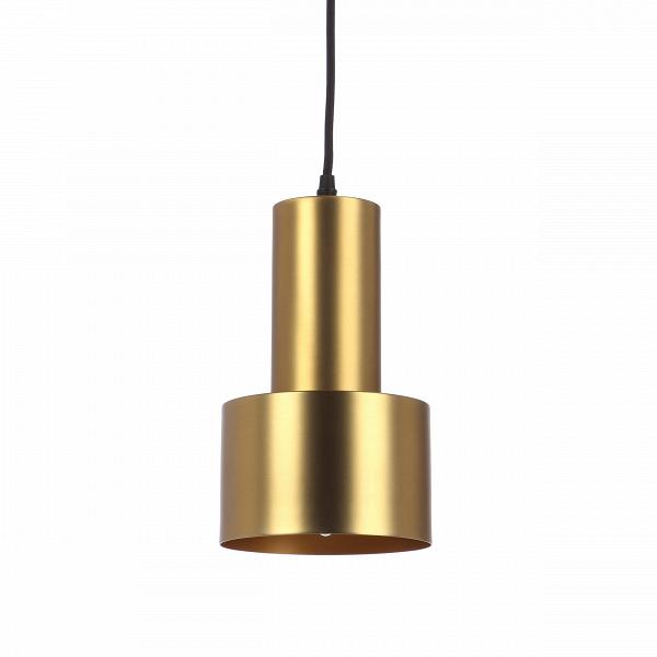 Подвесной светильник CancanПодвесные<br>Подвесной светильник Cancan может стать незаменимым другом в оформлении интерьера. Его лаконичный, но эффектный дизайн позволяет ему вписаться почти в любую обстановку. Простая геометрия форм позволяет использовать его в помещениях, оформленных в стилях модерн, минимализм, хай-тек, китч, индастриал, лофт. Один такой светильник позволяет играть со светом, расставляя световые акценты там, где это необходимо. Кроме того, такие светильники можно повесить в ряд для создания световой дорожки или...<br><br>stock: 0<br>Высота: 30<br>Диаметр: 15<br>Количество ламп: 1<br>Материал абажура: Сталь<br>Материал арматуры: Сталь<br>Мощность лампы: 40<br>Ламп в комплекте: Нет<br>Напряжение: 220-240<br>Тип лампы/цоколь: E14<br>Цвет абажура: Латунь<br>Цвет арматуры: Латунь<br>Цвет провода: Черный