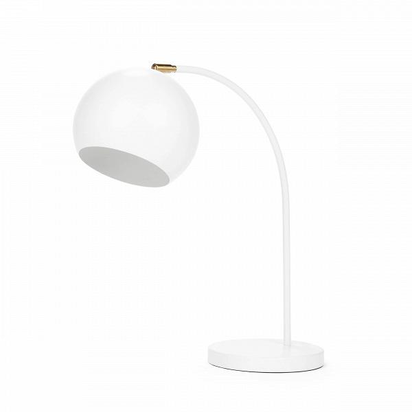 Настольный светильник SphereНастольные<br>Настольный светильник Sphere — прекрасный пример эргономичности в дизайне. Тонкая изящная ножка, плавно перетекающая в тяжелый плафон идеальной шарообразной формы, создает впечатление законченности и выдержанности.<br><br><br> В простоте создается идеальный стиль — именно так и сделан этот небольшой светильник в стиле модерн. Модерну присущи лаконичность и функциональность, и эти идеи при помощи этого предмета интерьера может реализовать любой поклонник минимализма в дизайне. Изящные линии наст...<br><br>stock: 0<br>Высота: 58<br>Ширина: 22<br>Длина: 49<br>Количество ламп: 1<br>Материал абажура: Сталь<br>Материал арматуры: Сталь<br>Мощность лампы: 60<br>Ламп в комплекте: Нет<br>Напряжение: 220-240<br>Тип лампы/цоколь: E27<br>Цвет абажура: Белый<br>Цвет арматуры: Белый<br>Цвет провода: Черный