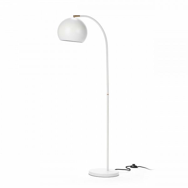 Напольный светильник SphereНапольные<br>Напольный светильник Sphere — прекрасный пример эргономичности в дизайне. Длинная тонкая изящная ножка, плавно перетекающая в тяжелый плафон идеальной шарообразной формы, создает впечатление законченности и выдержанности.<br><br><br> В простоте создается идеальный стиль — именно так и сделан этот небольшой светильник в стиле модерн. Модерну присущи лаконичность и функциональность, и эти идеи, доведенные до крайности, может при помощи этого предмета интерьера реализовать любой поклонник минимали...<br><br>stock: 0<br>Высота: 133<br>Ширина: 25<br>Длина: 53<br>Количество ламп: 1<br>Материал абажура: Сталь<br>Материал арматуры: Сталь<br>Мощность лампы: 60<br>Ламп в комплекте: Нет<br>Напряжение: 220-240<br>Тип лампы/цоколь: E27<br>Цвет абажура: Белый<br>Цвет арматуры: Белый<br>Цвет провода: Черный