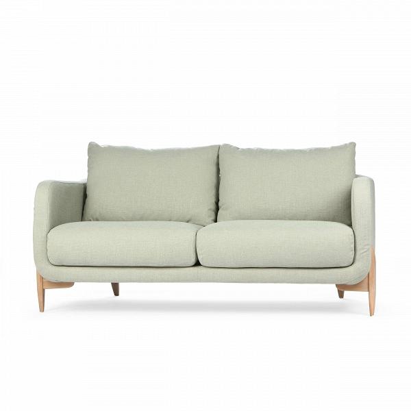 Диван  JennyДвухместные<br>Дизайнерский уютный светлый двухместный диван Jenny (Дженни) с ножками из дуба от Sits (Ситс)<br><br> Уютный и простой диван Jenny был создан ведущими западными дизайнерами специально для спокойных современных интерьеров, где ценится умиротворенная атмосфера, домашний комфорт и положительное настроение. Все это способна создать правильно подобранная мягкая мебель, и диван Jenny также отлично справится с этими задачами.<br><br><br> Чехол дивана изготовлен из приятной на ощупь, высококачественной тек...<br><br>stock: 2<br>Высота: 84<br>Высота сиденья: 46<br>Глубина: 99<br>Длина: 175<br>Цвет ножек: Беленый дуб<br>Материал обивки: Вискоза, Хлопок, Лен, Полиамид<br>Степень комфортности: Стандарт комфорт<br>Форма подлокотников: Стандарт<br>Коллекция ткани: Категория ткани IV<br>Тип материала обивки: Ткань<br>Тип материала ножек: Дерево<br>Цвет обивки: Светло-бирюзовый